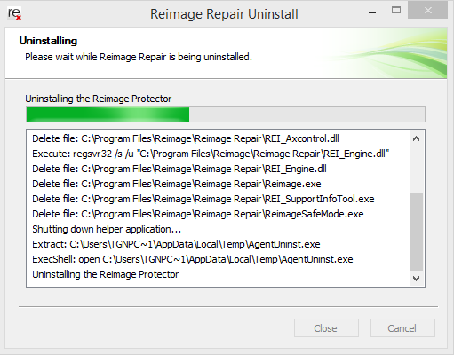 uninstall-reimage